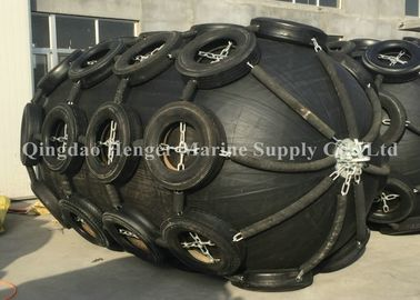 Natural Rubber Boat Mooring Fenders Inflatable Rubber Fender 1M - 6.5M Long ISO17357