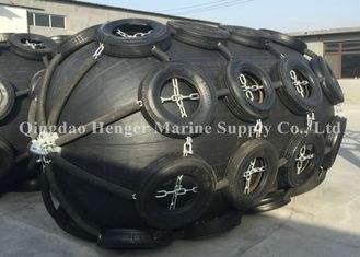 0.05Mpa 0.08Mpa Inflatable Marine Rubber Fenders , Good Air Tightness Floating Dock Rubber Fenders