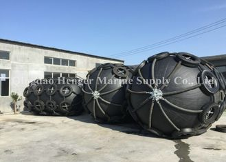 Safe Boat Mooring Fenders / Rubber Fenders For Boats 0.5m - 3.3m Diameter