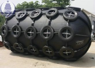 Anti - Explosion Inflatable Dock Rubber  Fenders , Commercial Boat Rubber Fenders For Harbour