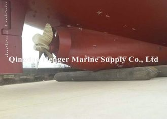 China Useful Marine Ship Launching and Upgrading Gasbag Boat Rubber Airbag With Good Elasticity supplier