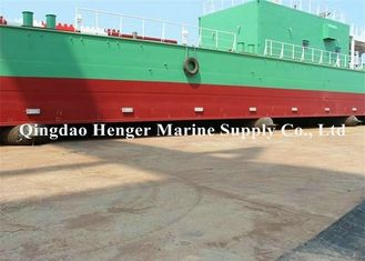 China Fishing Pneumatocyst Barge Ship Launching Airbags Natural Rubber Material supplier
