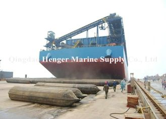 Black Inflatable Ship Launching Airbags For Ship Launching And Upgrading
