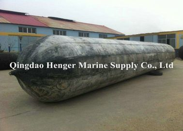China Durable Floating Inflatable Rubber Marine Airbag For Shipyard