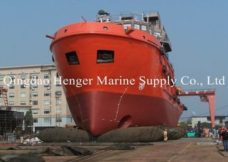 Good Air Block Inflatable Marine Tugboat Launching Airbag for Ship Launching