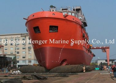 China Natural Rubber Marine Launch Airbag Salvage Cargo Airbag Long Life And Durable supplier