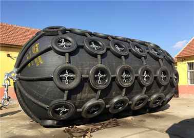 China Airplane Tyre Marine Rubber Fender Anti Explosion 0.05MPa / 0.08MPa Initial Internal Pressure supplier