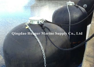 Self - Adjustable Submarine Fenders / Marine Floating Wheel Fender Natural Rubber Material