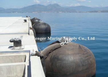 Vertical Submarine Fenders Semi - Submersible Type For Protecting Submarines