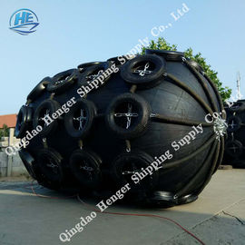 China Large Inflatable Marine Rubber Fender Protect Boat Durable Energy Saving supplier