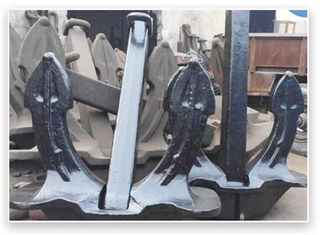 Hot Galvanized Hall Carbon Steel Anchor / Fishing Kayak Anchor Casting Technology
