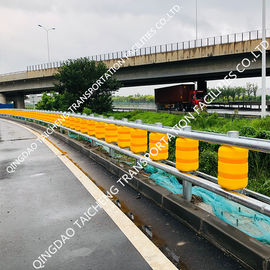 China Road Traffic Highway Guardrail Safety Roller Barrier supplier