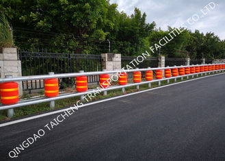 China Energy Absorb Anti Shock Height 510mm Highway Roller Barrier supplier