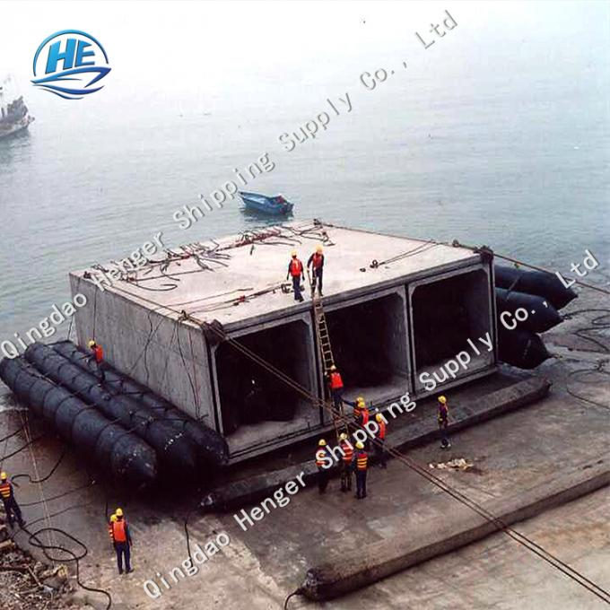Marine Boat Lift Air Bags Ship Launching 8 - 24m Long