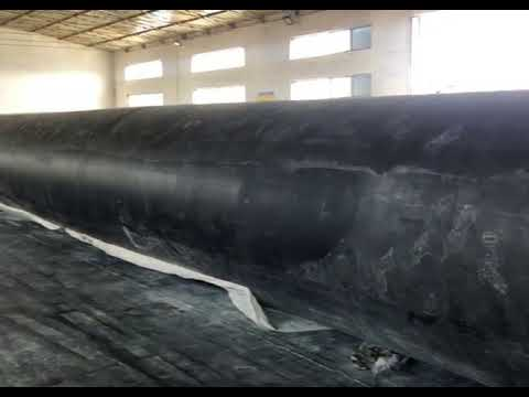 Fishing Pneumatocyst Barge Ship Launching Airbags Natural Rubber Material