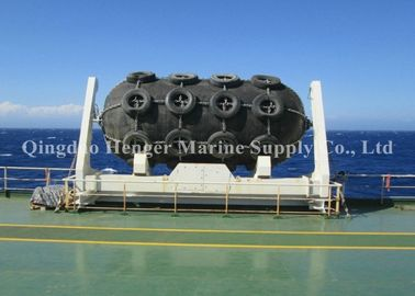 China High Pressure Resistant Marine Rubber Fender Wharf Inflatable Rubber Fenders For Boat / Port factory