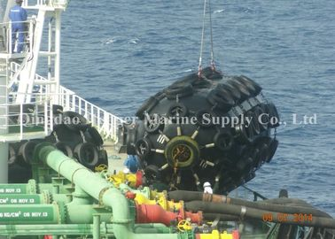 China Dock And Port Marine Airbag Fender External Wear Resistance For Moving The Cargo factory