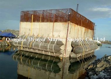 China Fishing Boat Bulk Cargo Marine Salvage Airbags / Boat Lifting Air Bags factory