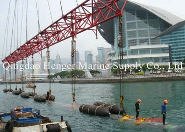 China High Performance Heavy Lift Air Bags , Advanced Marine Salvage Lift Bags factory