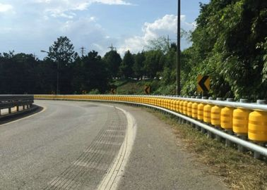 China KSI Type Highway Anti - Collision Safety Rolling Barrier / Safety Rolling Guardrail factory