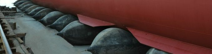 Sell China High Quality Natural Rubber Marine Airbag for Ship Launching & Upgrading 5