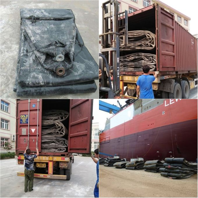 Sell China High Quality Natural Rubber Marine Airbag for Ship Launching & Upgrading 7